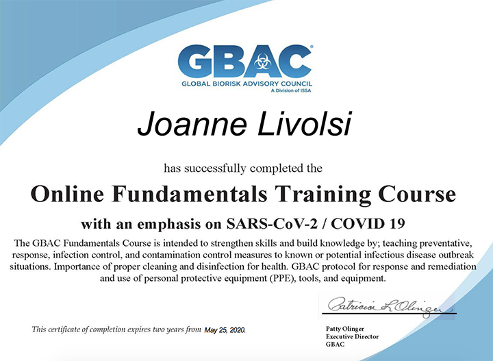 Online Fundamentals Training Course with emphasis on SARS-CoV-2/COVID 19